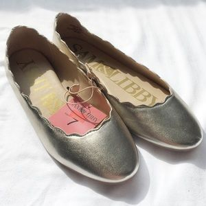 Sam & Libby Scalloped Flats